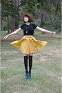 Skirt-and-boots-chicwish-boots-bunny-bag-pepaloves-bag