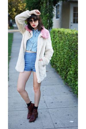 faux fur coat Unreal Fur coat