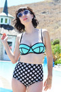 Twiggy-style-wildfox-coutur-sunglasses-button-bottoms-fashiontap-swimwear