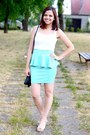 Aquamarine-oasapcom-dress-black-primark-bag-neutral-primark-heels