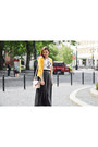 Black-deichmann-shoes-mustard-h-m-sweater-peach-primark-bag-gray-c-a-skirt