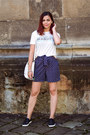 White-f-f-bag-navy-c-a-shorts-white-c-a-t-shirt-black-ccc-sneakers