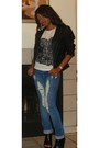 Walmart-shirt-american-eagle-jeans-forever-21-jacket-diy-shoes-moms-shop