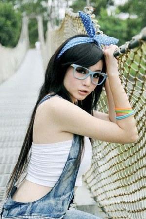 bracelet - glasses - romper - top