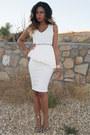 White-peplum-smoochxoxo-dress