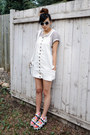 White-style-moca-dress-carrot-orange-nasty-gal-socks