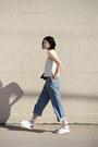 Sky-blue-wide-leg-new-classics-studios-pants