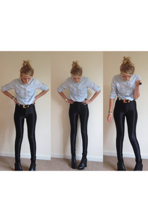 American Apparel pants - Topshop shirt