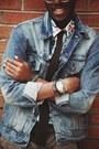 Paperboy-cap-old-navy-hat-jean-levis-jacket-tropical-print-h-m-shirt