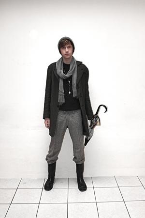 Zara hat - scarf - Diesel coat - S Oliver pants - H&M t-shirt