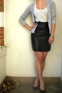 Leather-vintage-skirt