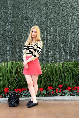 Forever 21 jumper - Forever 21 skirt - Primark flats
