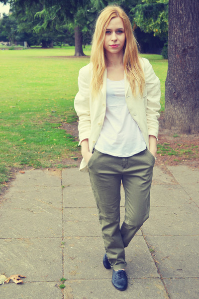 Zara top - Polo by Ralph Lauren blazer - Zara pants