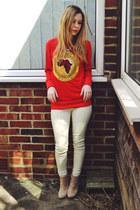 Ebay sweatshirt - asos boots - Stylenanda pants