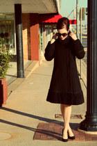 vintage coat - Target sunglasses