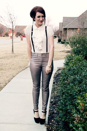 Forever 21 top - asos pants