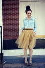 Primark-shirt-eshakti-skirt-target-wedges