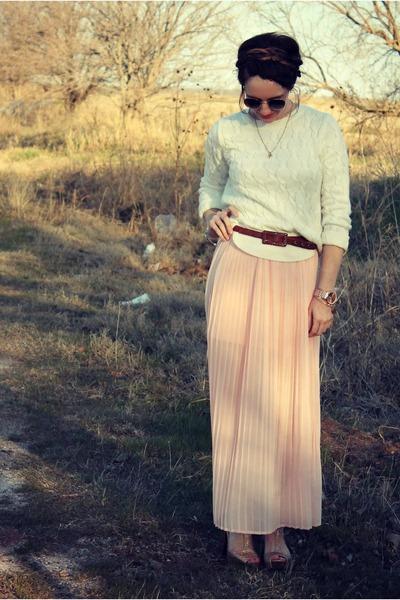 Forever 21 skirt - Target sunglasses - lulus heels