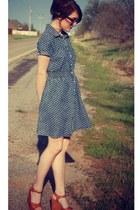 Target dress - Shoe Dazzle wedges
