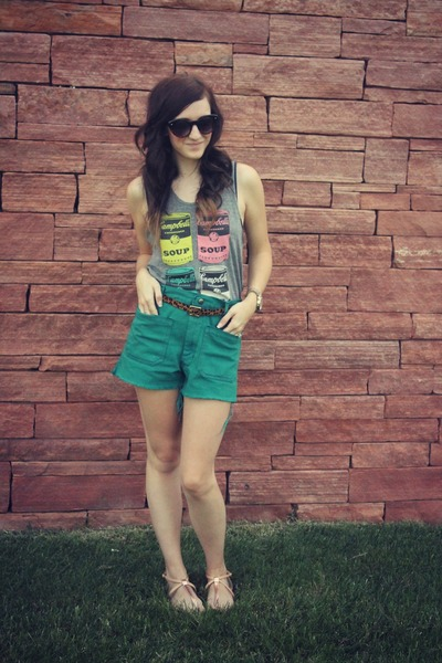 Target top - Urban Outfitters shorts