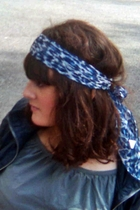 scarf - dress - H&M jacket
