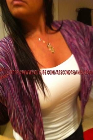 purple Target sweater