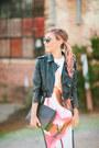Bubble-gum-structured-clover-canyon-dress