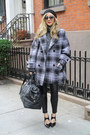 Black-stacked-heel-31-phillip-lim-shoes-heather-gray-oversized-plaid-coat
