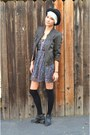 American-rag-boots-brandy-melville-dress-doma-leather-jacket-h-m-socks
