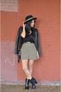 Black-justfab-boots-black-vanessa-bruno-jacket-black-chane-bag