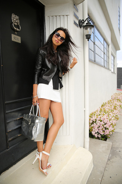 Sexy skirt heels