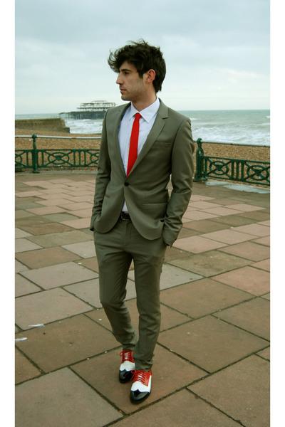 Topshop suit - H&M shoes