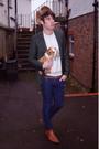 Topman-blazer-vintage-sweater-newlook-boots-april-77-jeans-hat
