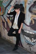 H&M blazer - Sisley shirt