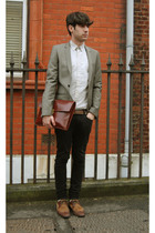 Topman blazer - vintage shirt - Zara shoes - vintage accessories
