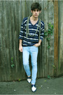 Vintage-sweater-replay-jeans-vintage-shoes
