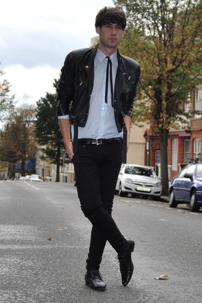 Cheap Monday jeans - Topman shoes - vintage jacket - vintage shirt