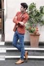 Primark-shoes-zara-blazer-sisley-shirt-topman-pants-topman-tie