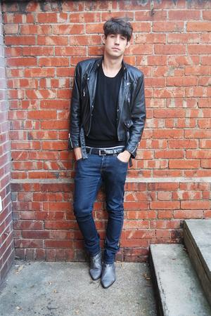 Topman boots - vintage jacket