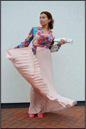 shein skirt - zaful romper
