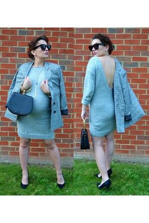 Blazer blazer - woolen knitted LaWool dress