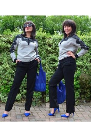 BonPrix blouse - BonPrix pants - Atmosphere heels