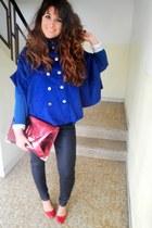 jacket - asoscom bag - Zara pants - Zara heels