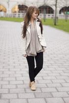 Vans sneakers - Bershka jeans - Rinascimento blazer - Michael Kors bag