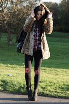 coat - leggings