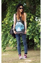 Internacionale jeans - Romwecom top