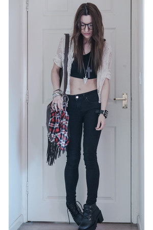 Internacionale jeans - Sheinsidecom cardigan