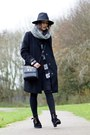 Black-cndirect-boots-black-primark-coat-black-tomtop-bag