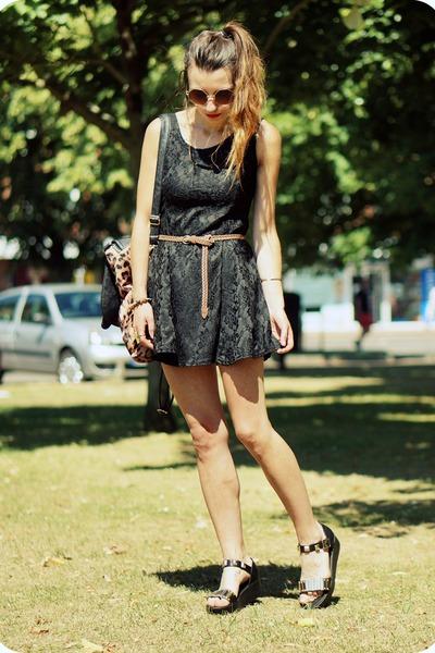 Sheinsidecom dress - Romwecom sandals