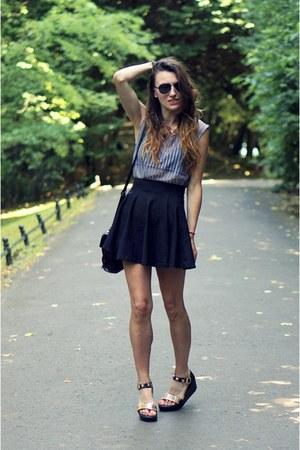 H&M skirt - Romwecom sandals - nowistylejp top